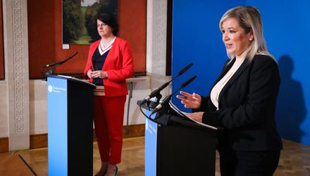 Arlene Foster and Michelle O'Neill