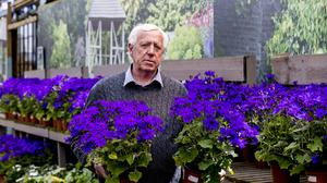 Robin Mercer, owner of Hillmount Garden Centre, urged clarity on when garden centres in Northern Ireland may reopen (Liam McBurney/PA)