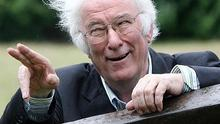 Irish poet and playwright Seamus Heaney, who has died aged 74
