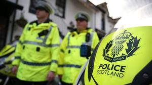 Police Scotland say the man may have travelled to Northern Ireland or the Republic of Ireland (Andrew Milligan/PA)