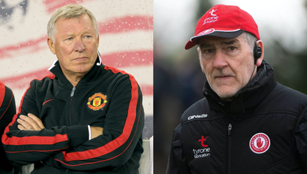 Sir Alex Ferguson and Mickey Harte Credit: Getty Images/INPHO