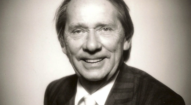 Forward-looking: Professor Billy McAlister, who has died aged 91