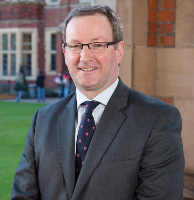 Queen's University Vice-Chancellor Professor Patrick Johnston, who died at the weekend