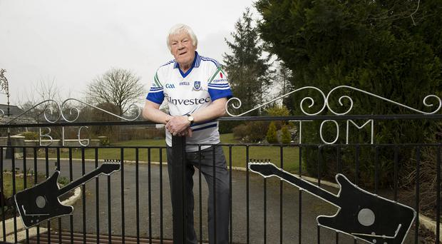 Big Tom at his home in Oram, Castleblayney