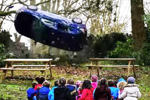 A recent road safety television campaign that targeted speeding drivers