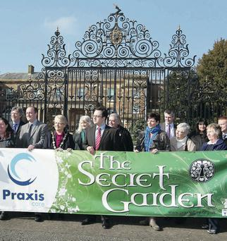 Only eight MLAs were present for the start of an Assembly debate on the future of Hillsborough Castle's Praxis cafe