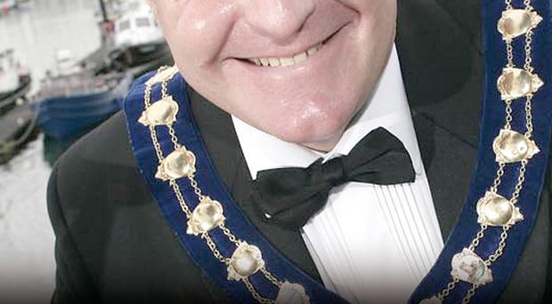 David Hilditch MLA is former mayor of Carrickfergus