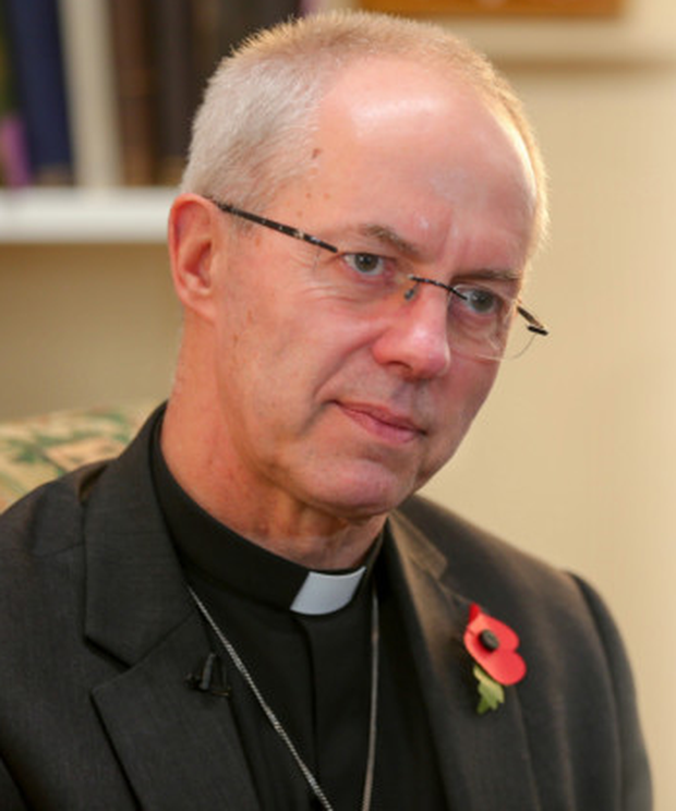 Dr Justin Welby talking to the Belfast Telegraph yesterday