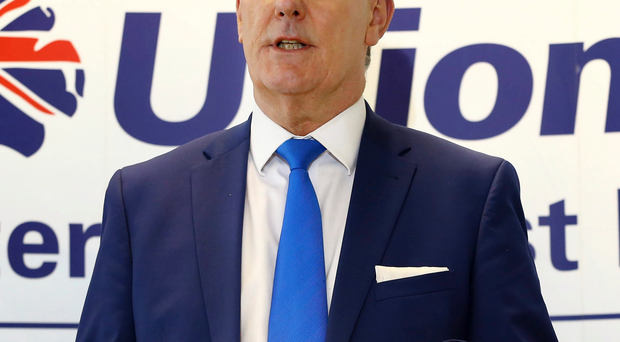 UUP leader Mike Nesbitt speaking last month at the launch of the party's Our Vision For You, The Voter, document