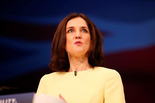 Former Secretary of State for Northern Ireland Theresa Villiers