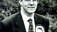 Robinson as a young parliamentary candidate