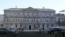 Leinster House, Dublin, the seat of the Oireachtas, the parliament of Ireland (Brian Lawless/PA)