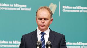 Minister for Education Joe McHugh previously announced this year's Leaving Certificate exams have been cancelled (Leon Farrell/PA)