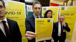 Minister for Health Simon Harris (Brian Lawless/PA)