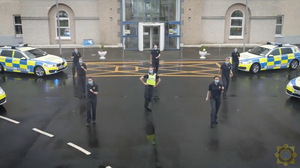 Garda from across Ireland took part in the dance challenge (An Garda Síochána/Facebook(
