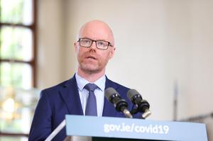 Minister for Health Stephen Donnelly has said community vaccinations will begin as planned next month (Julien Behal/PA)