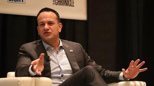 Taoiseach Leo Varadkar at the South by South West festival in Austin, Texas (Niall Carson/PA)