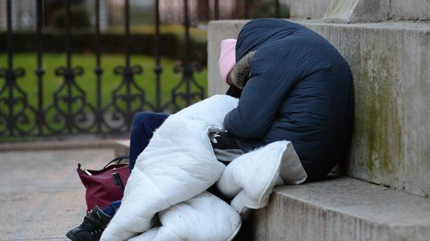 New data charts the rise of homelessness during the last five years of the housing crisis (Nick Ansell/PA)