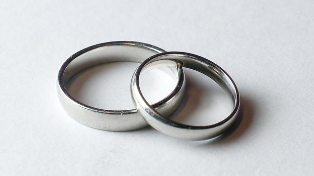 The Government has not got into the detail of what constitutes a small or big wedding (Anthony Devlin/PA)