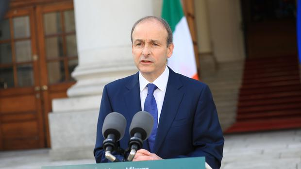 Taioseach Micheal Martin has called for a 'reset' of the relationship between the UK and the EU to resolve issues stemming from the Northern Ireland Protocol (Julien Behal Photography/PA)