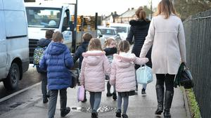 Parents should remain vigilant around symptoms as their children return to school, a senior GP in Ireland said (Nick Ansell/PA)