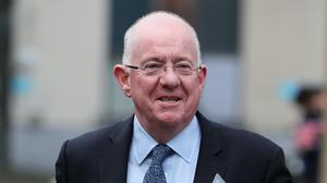 Minister for Justice Charlie Flanagan said that over 600 people in Direct Provision have been moved to a different site because of physical distancing and cocooning measures.