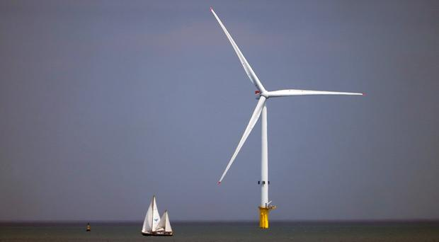 Electricity generated from renewable sources like wind is set to increase dramatically (PA)