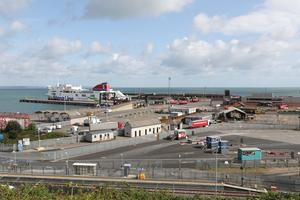 Rosslare Europort in Co Wexford (PA)