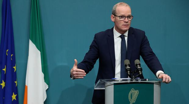 Tanaiste Simon Coveney said rent pressure zones legislation will be extended to the end of 2021 (Brian Lawless/PA Wire)
