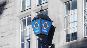 A stock picture of the Garda badge logo on Dublin's Pearse Street station (Niall Carson/PA)
