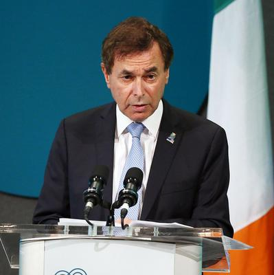 Alan Shatter has played down fears of a chemical attack on Irish peacekeepers in the Middle East.