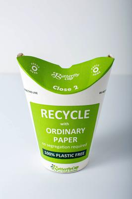 Butterfly Cup founder and CEO Tommy McLoughlin believes Covid-19 will force catering businesses to address customer anxiety around the hygiene and cross-contamination risks of plastic lids, straws, and keep cups.