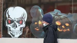 Health experts said the increased rate of infection levels in the past week appeared to be linked to people partying over the Halloween period (Andrew Milligan/PA)