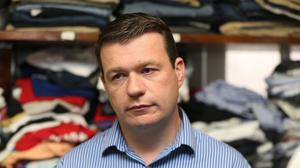 The device was sent to Alan Kelly's constituency office in Nenagh, Co Tipperary