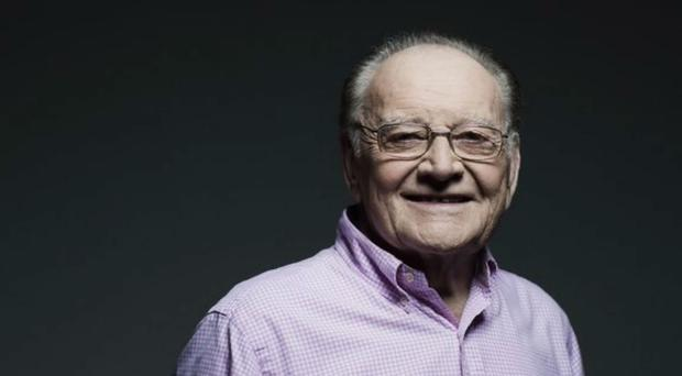 Larry Gogan died on Tuesday aged 85 (RTE/PA)
