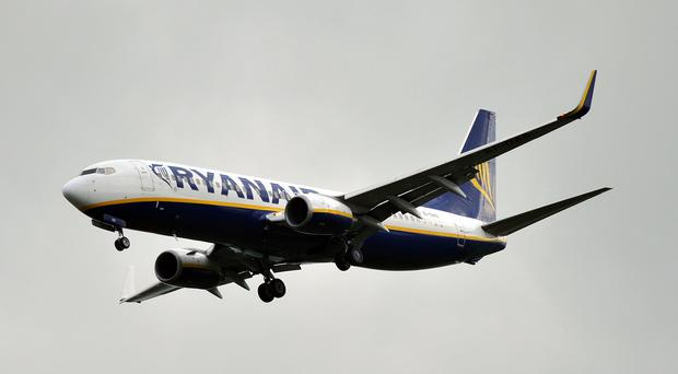 Ryanair has strong orders going into the first months of 2020 (Nick Ansell/PA)
