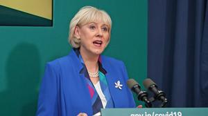 Heather Humphreys said the figures demonstrate the 'unprecedented challenging times' the country is facing as a result of the pandemic (Julien Behal/PA)
