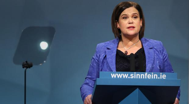 Mary Lou McDonald said Sinn Fein have learned the lessons of the local elections (Brian Lawless/PA)