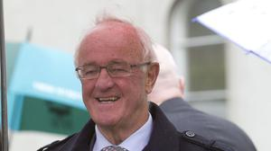 Frank Kelly played Father Jack in the hit comedy series Father Ted