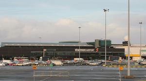 The flight was diverted to Shannon airport