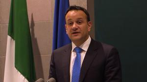 Leo Varadkar said health ministers across the EU will talk to each other every day to help tackle the spread of Covid-19 (PA)