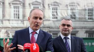 Deputy Fianna Fail leader Dara Calleary said he is disappointed at being overlooked for a senior role in the new coalition government (PA)