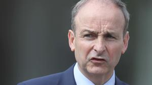 Taoiseach Micheal Martin has hailed the EU agreement on a 1.82 trillion euro budget and coronavirus recovery fund as a 'strong deal' (Brian Lawless/PA)