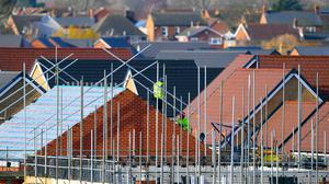 There was an 18% increase in new housing in Ireland last year (Joe Giddens/PA)