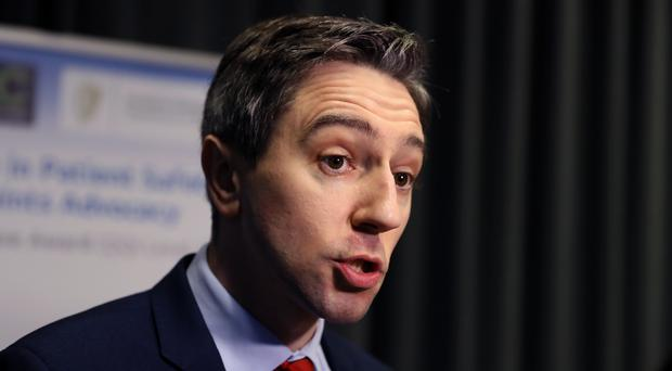 Minister for Health Simon Harris at the launch of a new Patient Advocacy Service at Dublin Castle.