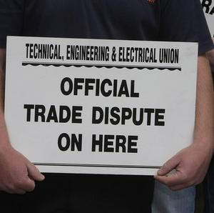 Eamon Devoy of the TEEU said 94% backing for a strike demonstrated the strength of feeling over wages