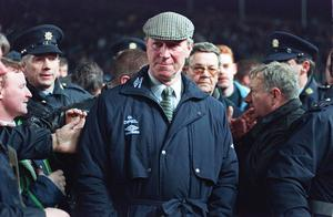 Jack Charlton, when he was Ireland manager in 1995 (PA)