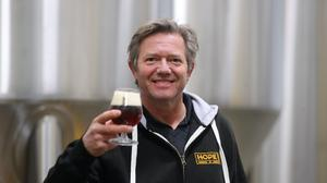 Wim de Jongh, co founder of the Hope Craft Brewery in Dublin (Niall Carson/PA)