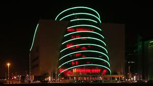 The Dail's business committee has given the green light to 'explore' the option of using Dublin's Convention Centre (Niall Carson/PA)