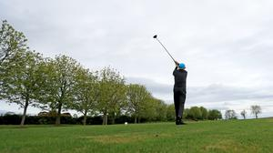 Golfers are back in action across Ireland (Donall Farmer/PA)